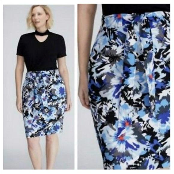 4597240fdd Lane Bryant Dresses & Skirts - LANE BRYANT PLUS SIZE FLORAL SKIRT